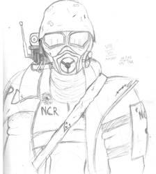 NCR  Ranger by Mane-Shaker
