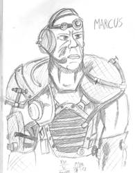 Marcus - Fallout 2/New Vegas by Mane-Shaker