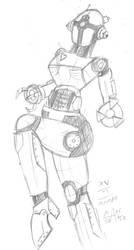 Assaultron by Mane-Shaker