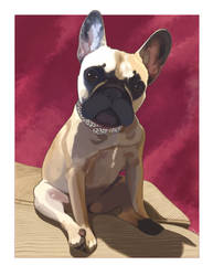 French Bulldog (Commission) by EFBailey