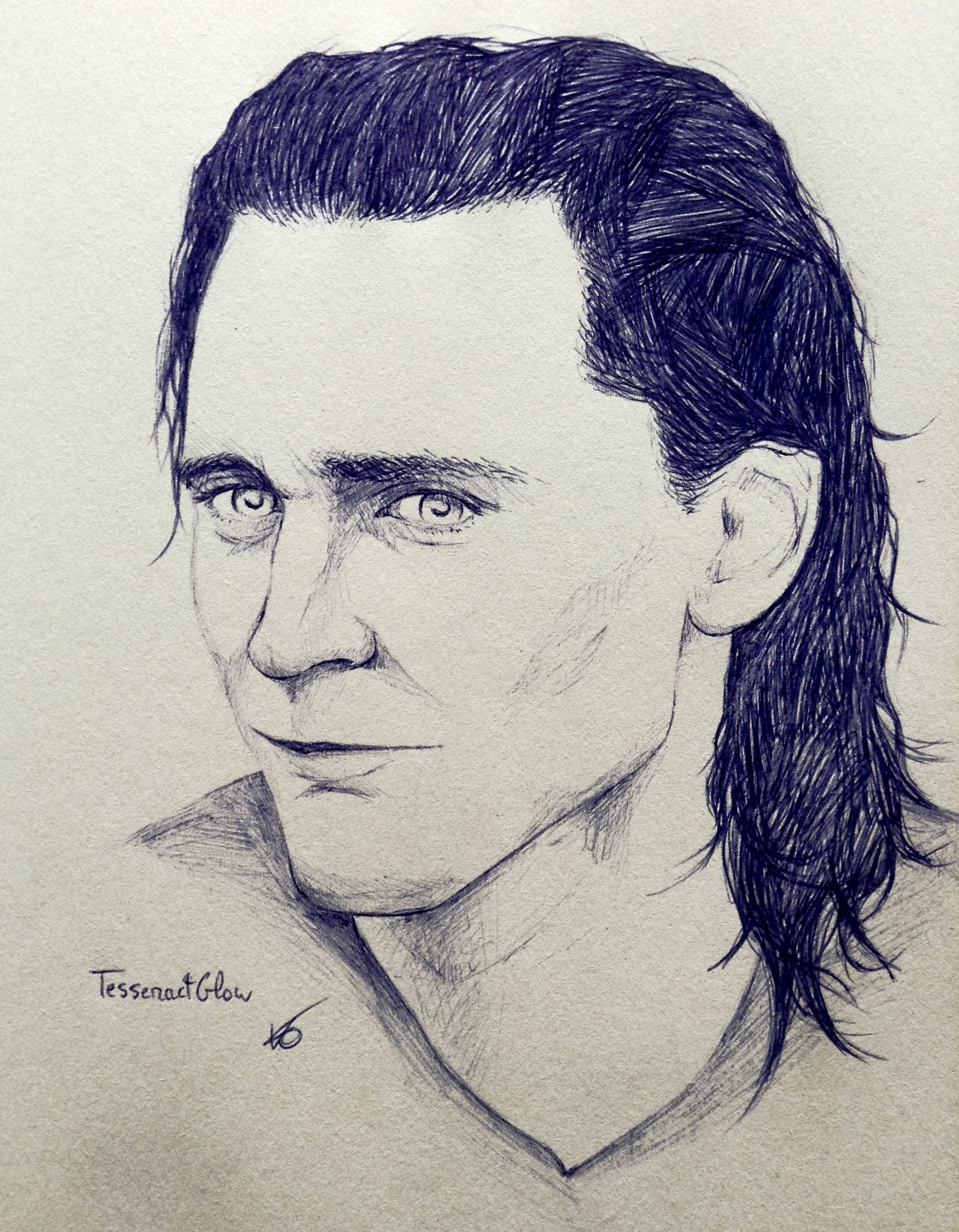 Tom Hiddleston - Loki by TesseractGlow