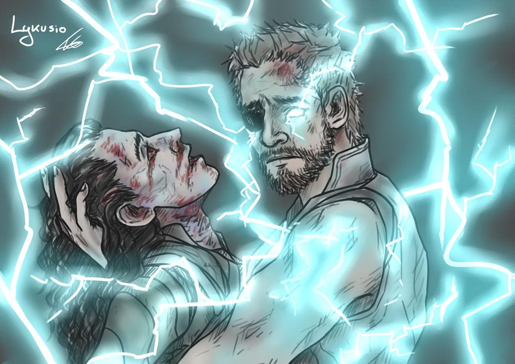 Avengers Infinity War - Loki and Thor by Lykusio on DeviantArt