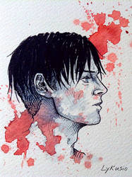 Levi Ackerman by Lykusio