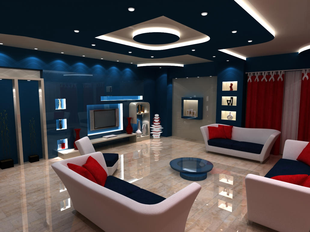 interior flat design 2 by Geactormy .
