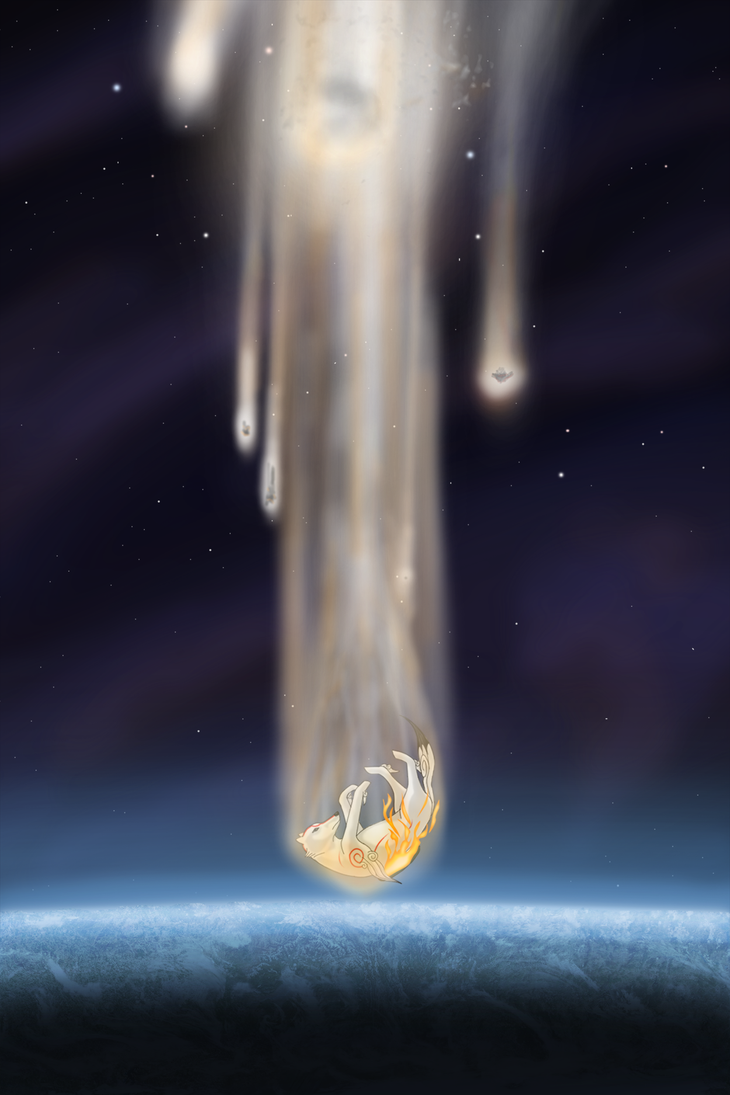 Okami - Fall of a Goddess by SilverMarten