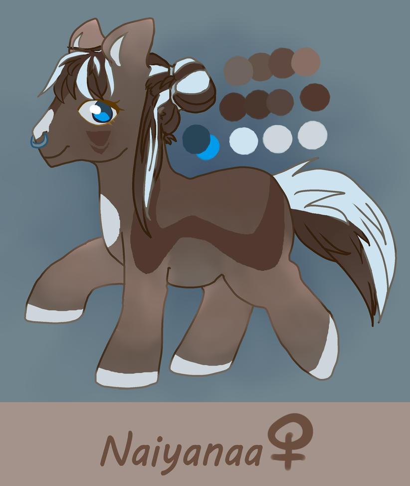 Naiyanaa Reference - Pony Version by Naiyanaa