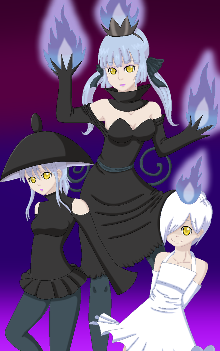 Litwick gijinka evolution by Fluffytail-Zombie on DeviantArt for Litwick Gijinka  59dqh