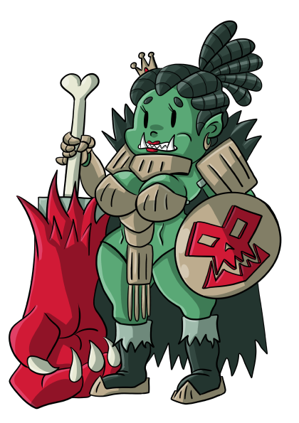 Queen Orc by TheBrave