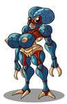 metaluna mutant girl by TheBrave