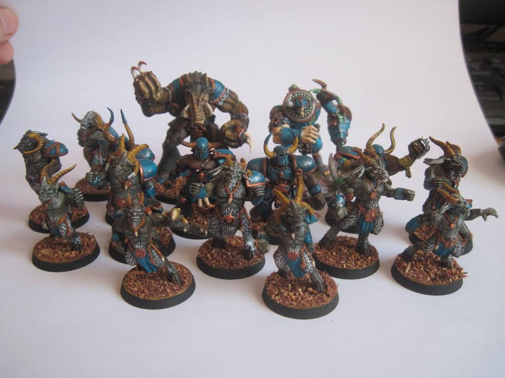 Kitbash chaos blood bowl team by TheBrave