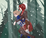 Love in snow by Thorinanei