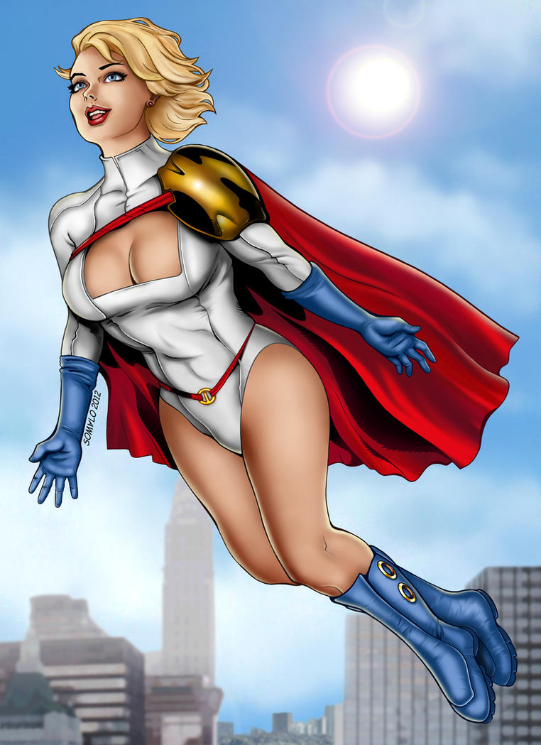 Powergirl by Somalo1