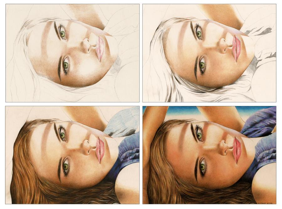 Isabel Lucas (Work In Progress) by Somalo1