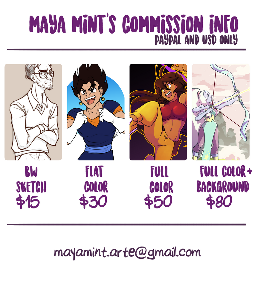 Commission Info by mayamint