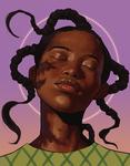 Purple Portrait Practice
