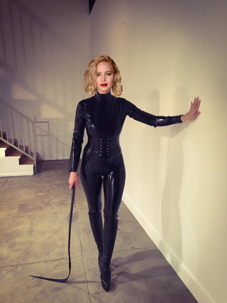Sexy long haired slave meets the flogger for the first time 8