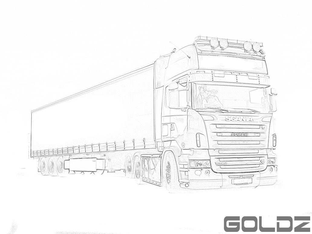 Scania R620 SUPER Sketch 394134606