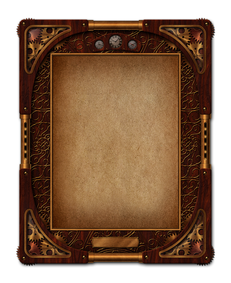Steampunk frame by sonarpos