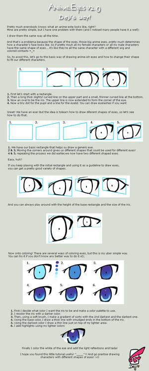 Anime Eyes 2.0 - Deji's Way