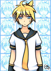 The many faces of Kagamine Len