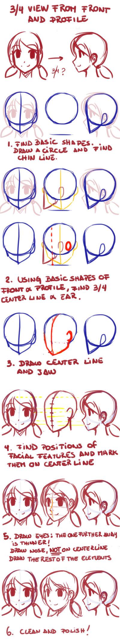 Drawing 3-4 view by DejiNyucu