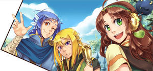 Ishtera - team of three by DejiNyucu