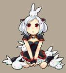 LiMei and the bunnies by DejiNyucu