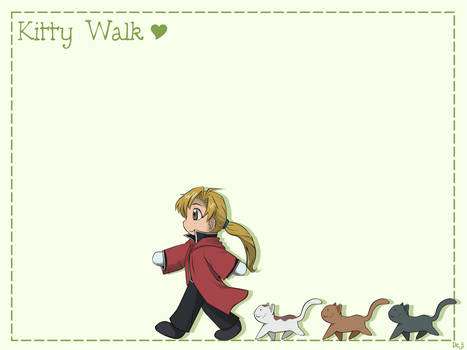 FMA Movie - Kitty Walk - wall