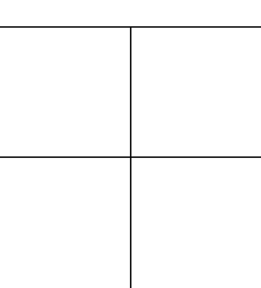 4-panel Comic Template by justcallmesly on DeviantArt