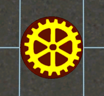 Steampunk gear rug for The Sims 3 by songbird21