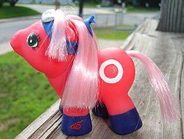 Baby Sakura- Pony ninja by songbird21