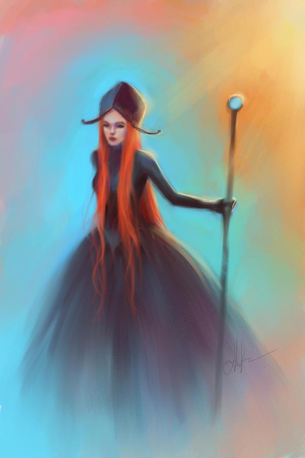 speed painting by Selenada