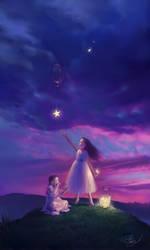 Wish Stars by Selenada