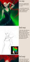 Lady Ladybug Tutorial by Selenada