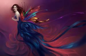 Lady Butterfly by Selenada