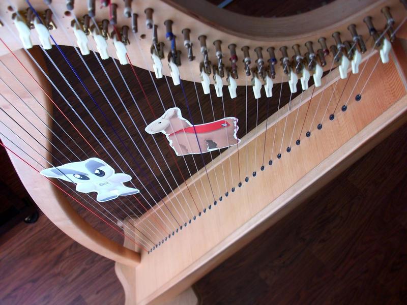 Harp Duet by Selenada