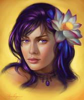 Commission: Lotus by Selenada