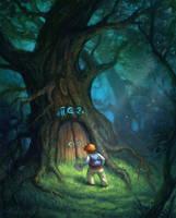 Magic Tree by Selenada