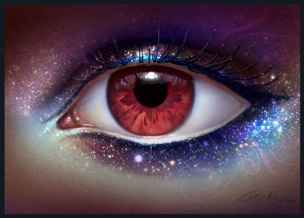 The Eye of the Universe by Selenada on DeviantArt