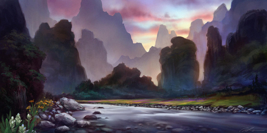 Peaceful Calmness by Selenada