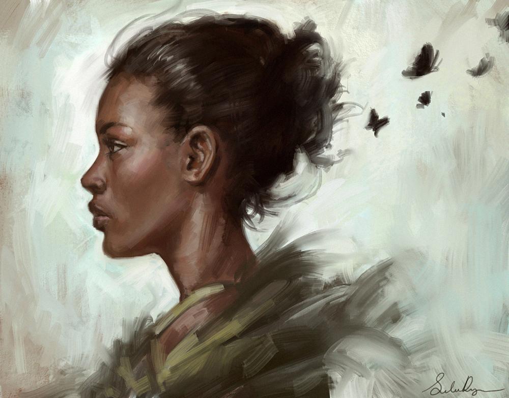 Galeria de Arte: Ficção & Fantasia 1 Black_butterfly_by_selenada-d6tmuqf