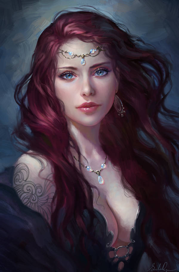 Sister of the Night by Selenada