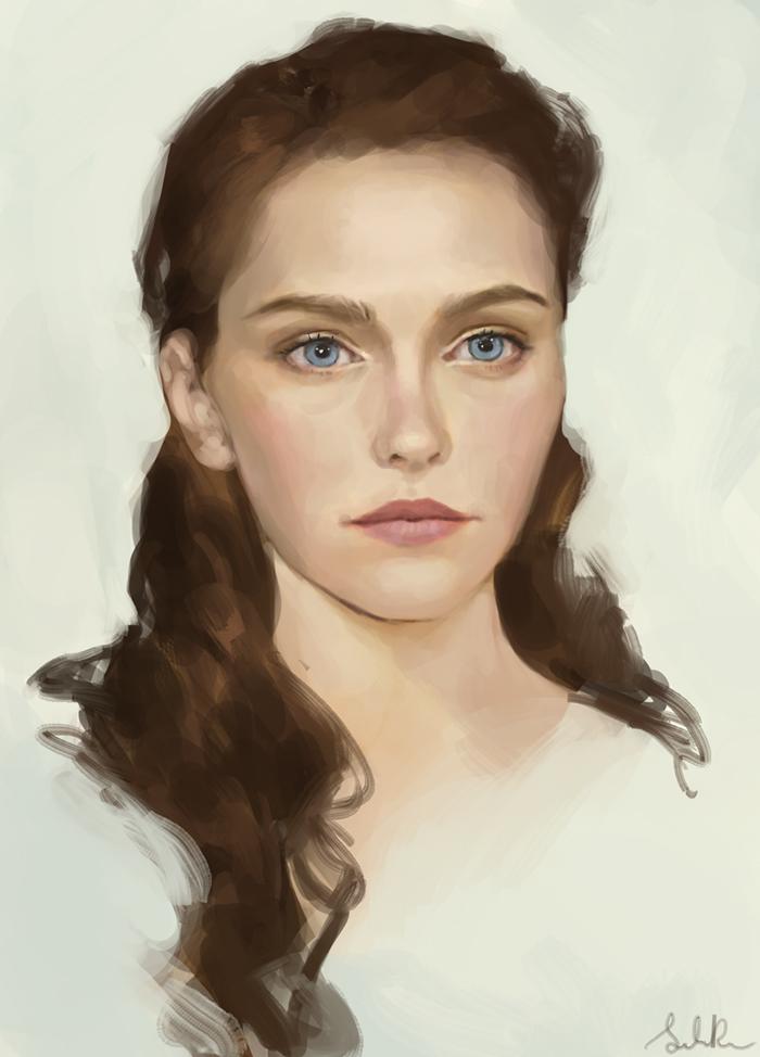 Face studie by Selenada