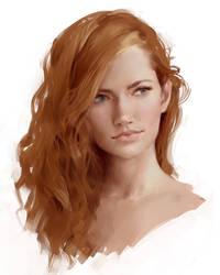 Painting Face by Selenada