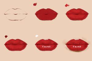 Lips Steps by Selenada