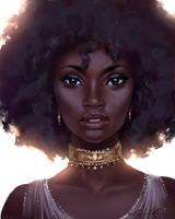 Black Beauty (Speed Paint) by Selenada