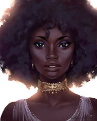 Black Beauty (Speed Paint) by Selenada