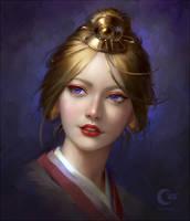 Shiori (commission) by Selenada