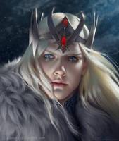 God of War Commission by Selenada
