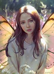 Butterfly Nest by Selenada